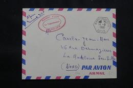 ALGÉRIE - Oblitération De Hassi Messaoud Oasis Sur Enveloppe En FM Pour La France En 1960 - L 57051 - Covers & Documents
