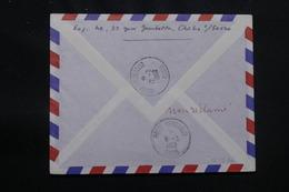 ALGÉRIE - Oblitération De Hassi Messaoud Oasis Au Verso D'une Enveloppe De France En 1962 - L 57052 - Covers & Documents