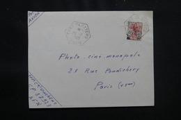 ALGÉRIE - Oblitération De Fort Flatters Oasis Sur Enveloppe En 1960 Pour Paris - L 57055 - Covers & Documents