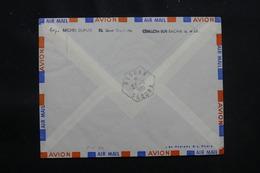 ALGÉRIE - Oblitération De Reggan Saoura Au Verso D'une Enveloppe De France En 1961 - L 57056 - Covers & Documents