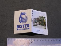 MOUTARDE BISTER - MINI AGENDA 1962 - Agende Non Usate