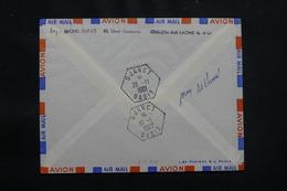 """ALGÉRIE - Oblitération """" Djanet Oasis """" En 11962 Au Verso D'une Enveloppe De France - L 57058 - Covers & Documents"""