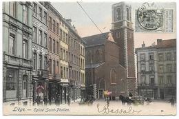 LIEGE : Eglise Saint-Pholien - 1904 - Liege