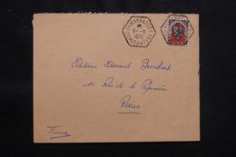 ALGÉRIE - Enveloppe De Tamanrasset En 1951 Pour Paris - L 57060 - Covers & Documents
