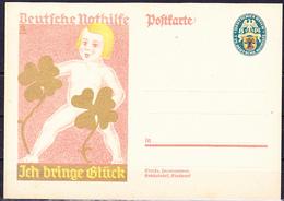 Deutsches Reich German Empire Empire Allemand - Sonderkarte Nothilfe (MiNr: P 208) 1928 - Postfrisch - Germania
