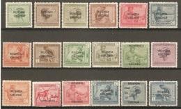 18 Timbres De 1924/27  ( Congo-Belge / Ruanda / Urundi ) - Congo Belga