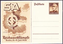 Deutsches Reich German Empire Empire Allemand - Reichswettkampf SA (MiNr: P 271) 1938 - Postfrisch - Duitsland