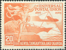 Ref. 624846 * HINGED *  - KENIA-UGANDA-TANGANIKA . 1949. 75th ANNIVERSARY OF UPU. 75 ANIVERSARIO DE LA UPU - Africa (Other)