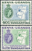 Ref. 624817 * NEW *  - KENIA-UGANDA-TANGANIKA . 1958. CENTENARIO DEL DESCUBRIMIENTO DEL LAGO VICTORIA Y TANGANIKA POR BU - Africa (Other)