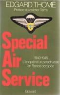 Guerre 1939-1945-Special Air Service-S.A.S.-Edgard Thomé-Parachutiste-Compagnon De La Libération-Résistance-Landernau- - Guerre 1939-45