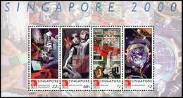 2000, Singapur, Block 70, ** - Singapore (1959-...)