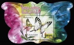 2008, Malaysia, Block 128, ** - Malesia (1964-...)