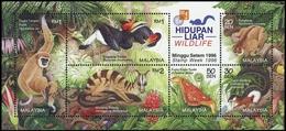 1997, Malaysia, Block 15 I, ** - Malesia (1964-...)
