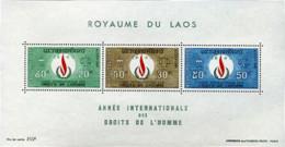 Ref. 212432 * NEW *  - LAOS . 1968. INTERNATIONAL HUMAN RIGHTS YEAR. A�O INTERNACIONAL DE LOS DERECHOS DEL HOMBRE - Laos