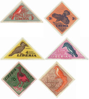 Ref. 35426 * NEW *  - LIBERIA . 1953. BIRDS. AVES - Liberia