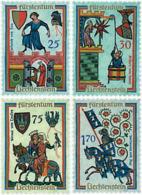 Ref. 79558 * NEW *  - LIECHTENSTEIN . 1963. THE MINNESINGERS. LOS MINNESINGERS - Ungebraucht
