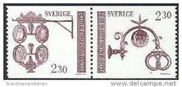Zweden 1981 Uithangborden Paar II PF-MNH - Neufs