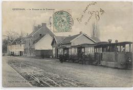 QUIEVRAIN : La Douane Et Le Tramway - 1906 - Quiévrain