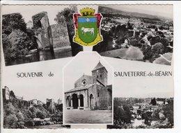 Cp Souvenir De Sauveterre De Bearn - Sauveterre De Bearn