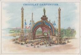 Expositions - Exposition Universelle 1900 - Chromo Chocolat Carpentier - Porte Monumentale Place De La Concorde - Expositions