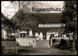 ÄLTERE POSTKARTE AUTOBAHN RASTSTÄTTE GRUNDBERGSEE BAB HAMBURG - BREMEN A1 SOTTRUM OTTERSBERG Ansichtskarte Cpa Postcard - Rotenburg (Wuemme)