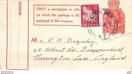 New Zealand Entier Postal Stationary Auckland - Nouvelle-Zélande