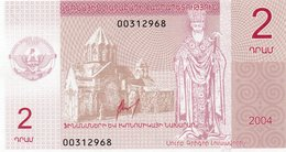 NAGORNO KARABAKH  2 DRAM 2004 P-901 UNC - Nagorny Karabach