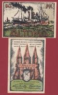 Allemagne 1 Notgeld 60 Pfenning Stadt Altona Dans L 'état Lot N °5874 - [ 3] 1918-1933 : République De Weimar