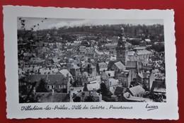Cpsm Photo 50 VILLEDIEU LES POELES  Panorama Agence Locale PEUGEOT, Commerces - Villedieu