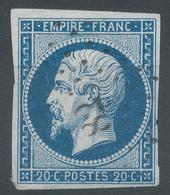 Lot N°54333   N°14Aa Bleu Foncé, Oblit PC 82 Anglure, Marne (49) , Ind 6, Bonnes Marges - 1853-1860 Napoleon III