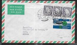 IRLANDA - STORIA POSTALE - BUSTA VIA AEREA 28.06.1965 PER L'ITALIA - 1949-... Repubblica D'Irlanda