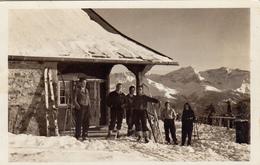 1098/ Skihaus Hochwang Des Ski-Club Rhätia Chur 1934? - GR Grisons
