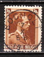 427  Leopold III Col Ouvert - Bonne Valeur - Oblit. Centrale BOCHOLT - LOOK!!!! - 1936-1957 Collar Abierto