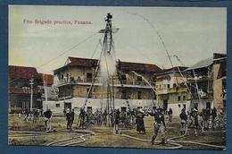 PANAMA - Fire Brigade Practise ( Pompiers ) - Panama