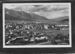 AK 0449  Innsbruck Von Der Brennerstrasse Aus Gesehen - Verlag Chizzali Um 1950 - Innsbruck