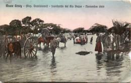 République Dominicaine - Monte Cristy - Inundacion Del Rio Yaque - Noviembre 1909 - Dominicaanse Republiek