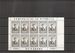Dag Hammarskjold ( 597 De Panama En Feuille XXX -MNh) - Dag Hammarskjöld