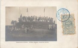 Ethiopia - Abyssinian Artillery - REAL PHOTO - Publ. A. Holtz. - Ethiopië