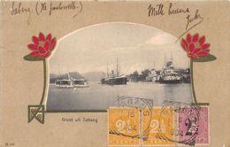 Indonesia - SABANG - View Of The Harbour - Art Nouveau Border - Publ. J. Alberti 210. - Indonésie