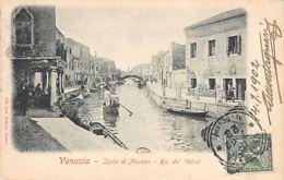 VENEZIA (VE) Isola Di Murano - Rio De' Vetrai - Venezia (Venedig)
