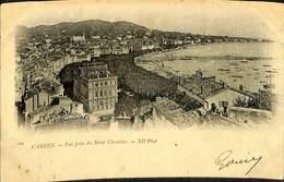 CPA - France - (06) Alpes Maritimes  - Cannes - Vue Prise Du Mont Chevalier - Cannes