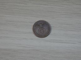 PIECE ALLEMAGNE CUIVRE 1937.D. 2 REICHSPFENNIG. 3éme REICH.  TTB. - [ 4] 1933-1945 : Third Reich