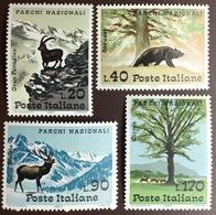 Italy 1967 National Parks Animals MNH - Francobolli