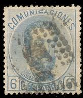 España Edifil 119 (º)  6 Céntimos Azul  Amadeo I  1872  NL1419 - 1872-73 Reino: Amadeo I