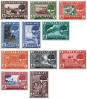 Ref. 55772 * NEW *  - MALAYSIA. MALACCA . 1960. BASIC SET. SERIE BASICA - Malacca