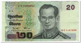 THAILAND,20 BAHT,2003,P.109,VF-XF - Thailand