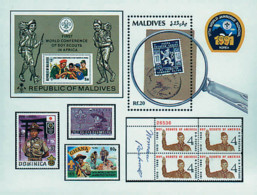Ref. 607242 * NEW *  - MALDIVES . 1992. 17th WORLD JAMBOREE IN SOUTH KOREA. 17 JAMBOREE MUNDIAL EN COREA DEL SUR - Malediven (1965-...)