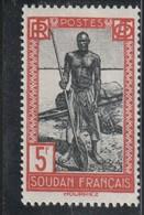 SOUDAN  Timbre De 1931-38  N° 86* - Soudan (1894-1902)