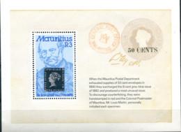 Ref. 162678 * NEW *  - MAURITIUS . 1979. 100th ANNIVERSARY OF THE DEATH OF SIR ROWLAND HILL. 100 ANIVERSARIO DE LA MUERT - Mauritius (1968-...)