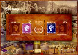 Ref. 300152 * NEW *  - MAURITIUS . 2012. 240TH ANNIVERSARY OF THE MAURITIUS POSTAL SERVICE. 240 ANIVERSARIO DEL CORREO - Mauritius (1968-...)